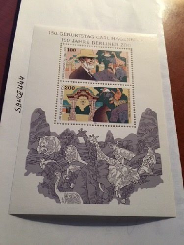 Germany Carl Hagenbeck s/s mnh 1994