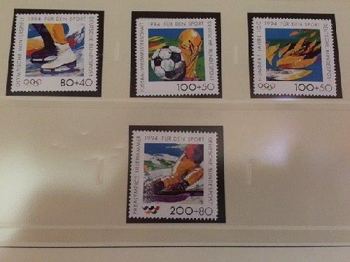 Germany Sport events mnh 1994