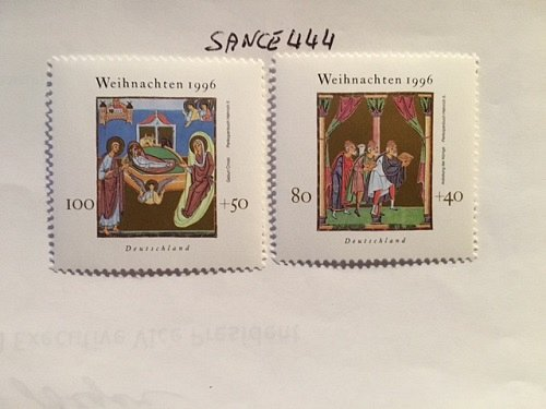 Germany Christmas mnh 1996