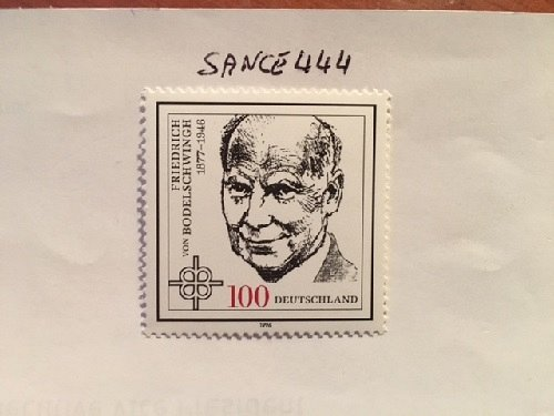 Germany F. von Bodelschwingh mnh 1996