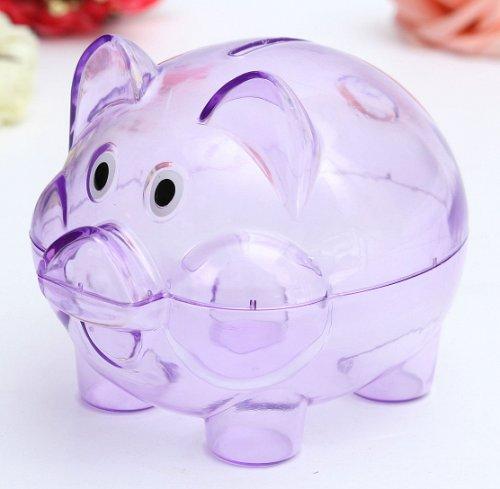 kids children piggy bank plastic