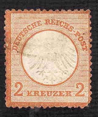 German Used Scott #4 Catalog Value $7.25