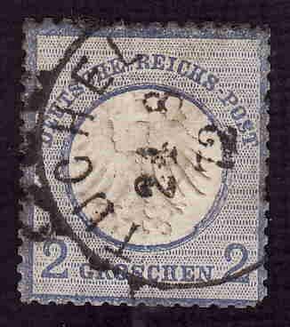German Used Scott #5 Catalog Value $13.50