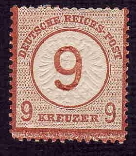 Germany Hinged ng Scott #28 Catalog Value $82.50