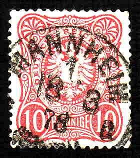 German Used Scott #31 Catalog Value $1.50