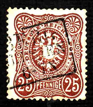 German Used Scott #33 Catalog Value $18.00