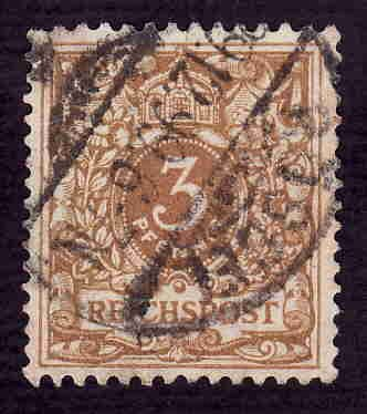 German Used Scott #46a Catalog Value $1.40