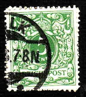 German Used Scott #47 Catalog Value $1.40