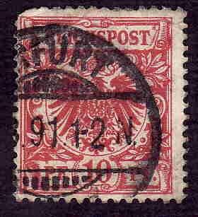 German Used Scott #48 Catalog Value $1.50