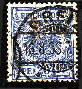 German Used Scott #49 Catalog Value $1.40