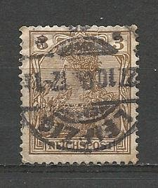 German Used Scott #53 Catalog Value $1.00
