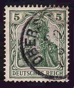 German Used Scott #67 Catalog Value $1.00