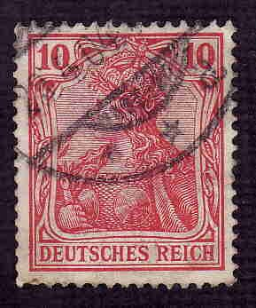 German Used Scott #68 Catalog Value $1.00