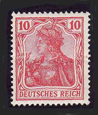German Hinged Scott #68 Catalog Value $9.00