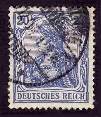 German Used Scott #69 Catalog Value $1.00