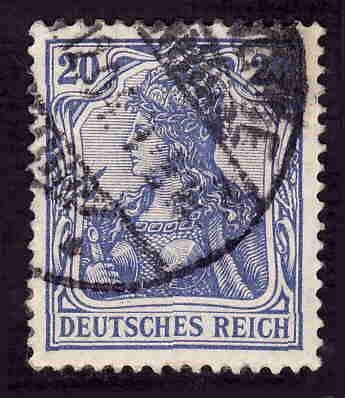 German Used Scott #69 Catalog Value $1.00