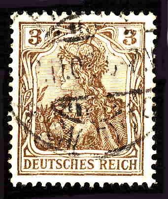 German Used Scott #81 Catalog Value $1.50