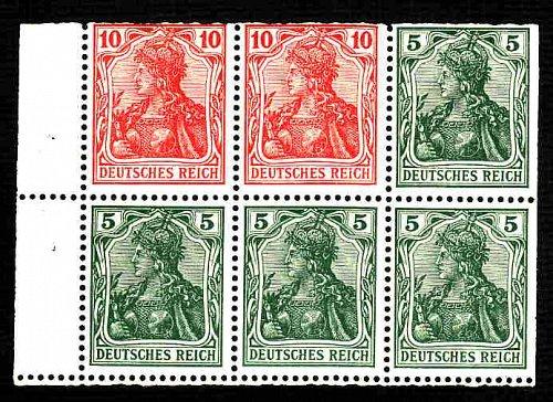 German MNH Scott #82g Catalog Value $56.57