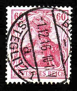 German Used Scott #89 Catalog Value $1.50