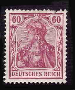Germany Hinged Scott #89a Catalog Value $22.50