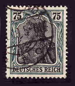 German Used Scott #90 Catalog Value $2.25
