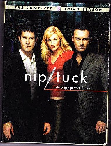 Nip/Tuck - Complete 3rd Season DVD 2006, 6-Disc Set - Very Good