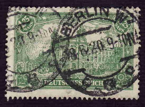 German Used Scott #112 Catalog Value $1.90