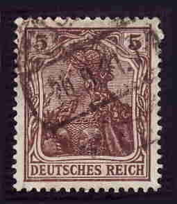 German Used Scott #118 Catalog Value $2.00