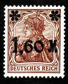 German Hinged Scott #133 Catalog Value $.25