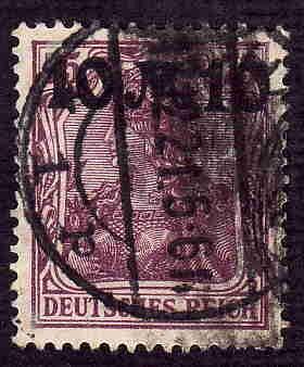 German Used Scott #136 Catalog Value $2.25