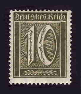 German MNH Scott #138 Catalog Value $.61