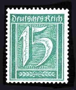 German MNH Scott #139 Catalog Value $.73