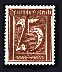 German MNH Scott #140 Catalog Value $.61