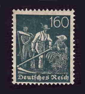 German MNH Scott #149 Catalog Value $.75