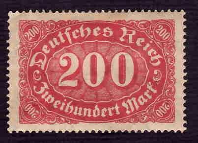 German MNH Scott #157 Catalog Value $.60