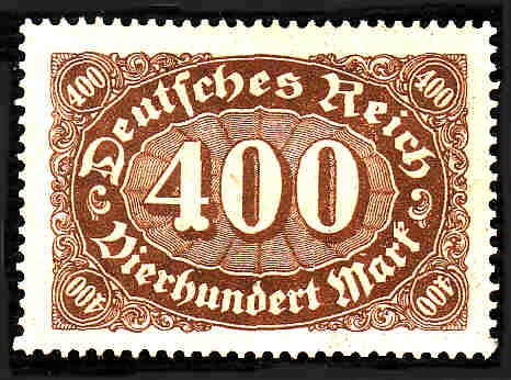 German MNH Scott #159 Catalog Value $1.31