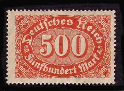 German MNH Scott #160 Catalog Value $.60