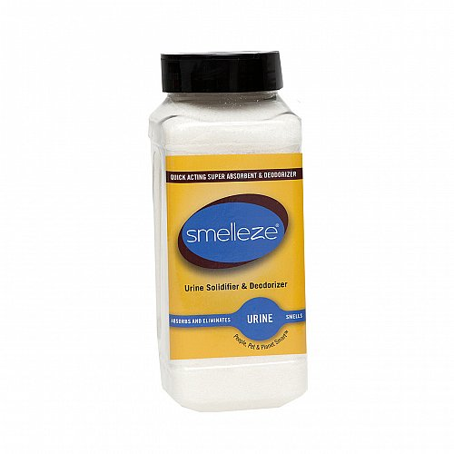 SMELLEZE Urine Solidifier & Odor Remover: 50 lb. Travel John Urine Absorbent
