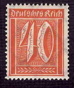 German MNH Scott #166 Catalog Value $.79