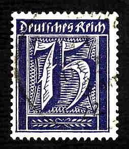 German Used Scott #170 Catalog Value $3.00