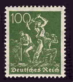 German MNH Scott #172 Catalog Value $.79