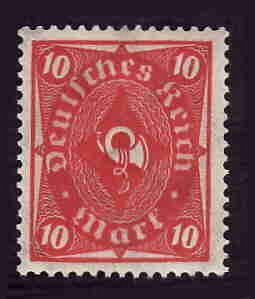 German MNH Scott #181 Catalog Value $.95