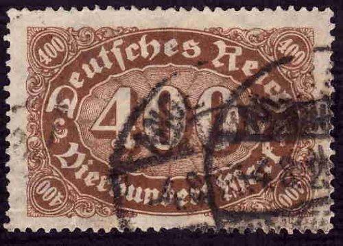 German Used Scott #202 Catalog Value $1.35