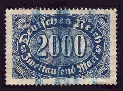 German Used Scott #205 Catalog Value $1.90