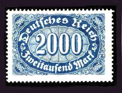 German MNH Scott #205 Catalog Value $.58
