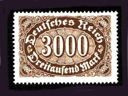 German MNH Scott #206 Catalog Value $.48
