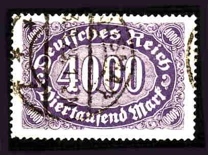 German Used Scott #207 Catalog Value $1.50