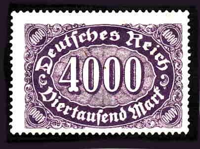 German MNH Scott #207 Catalog Value $.48
