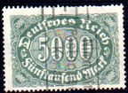 German Used Scott #208 Catalog Value $1.50