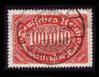 German Used Scott #209 Catalog Value $1.40